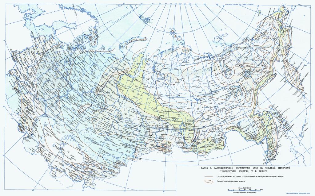 karta 5 SNiP 2.01.07-85